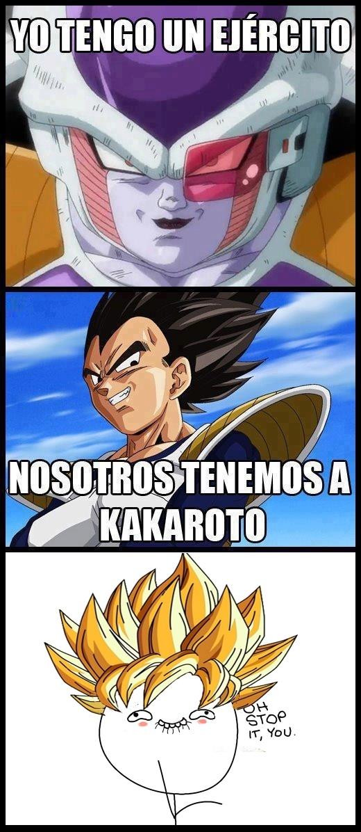Otros - Goku: Oh stop it you