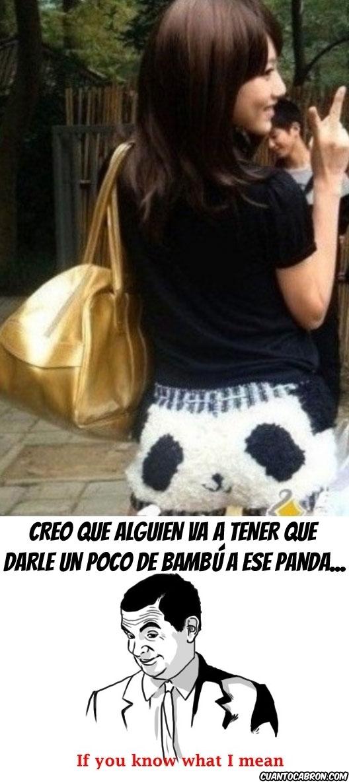 bambú,If you know what I mean,panda,Pantalón