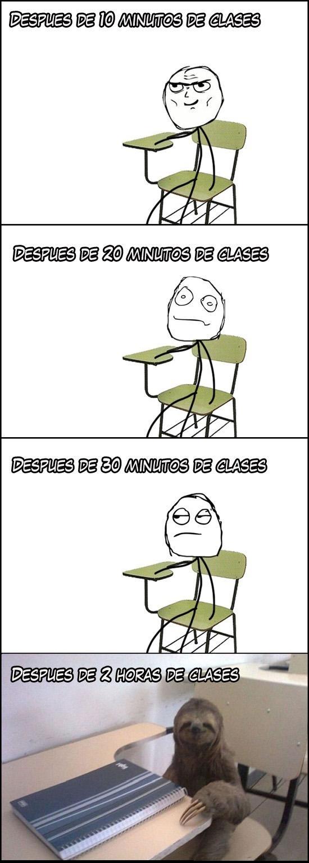 aburrimiento,clase,horas de clase,instituto,perezoso,random