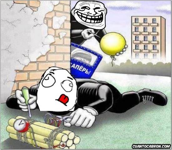 bomba,concentrado,desactivar,globo,policia,trollface