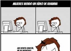 Enlace a La verdadera razón por la que veo vídeos de Rihanna