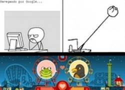 Enlace a En el Google Doodle han pensado en Forever Alone ¿lo has visto ya?