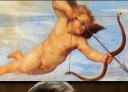 Enlace a Cupido haciendo de las suyas