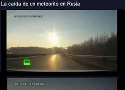 Enlace a ¡Ha caído un meteorito en Rusia!