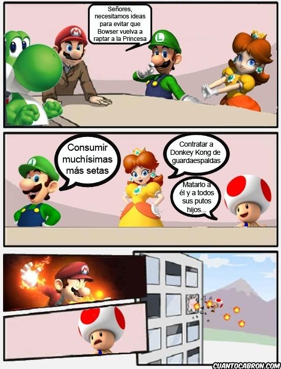 Otros - Junta de accionistas - Mario style