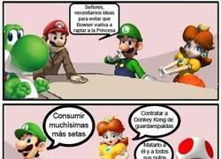 Enlace a Junta de accionistas - Mario style