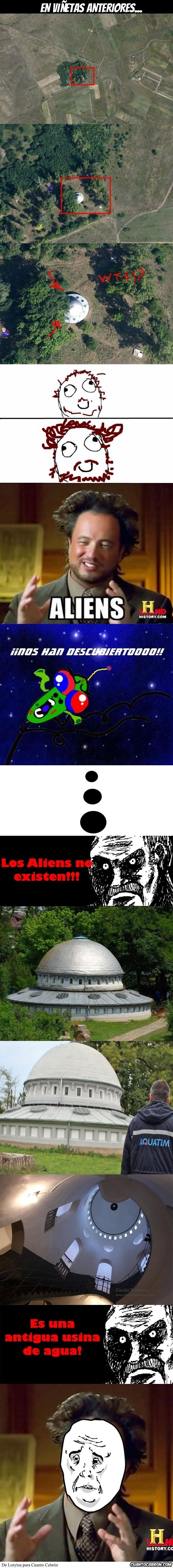 Otros - Los aliens no existen
