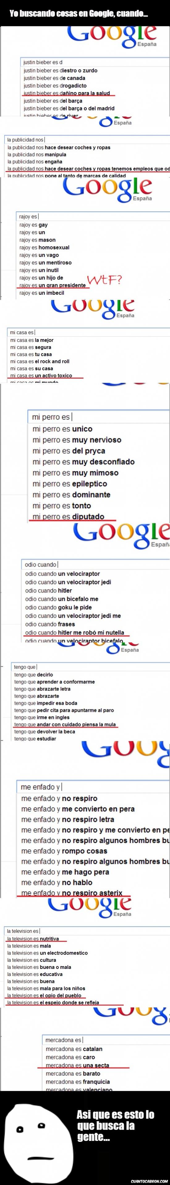Pokerface - Google y sus búsquedas