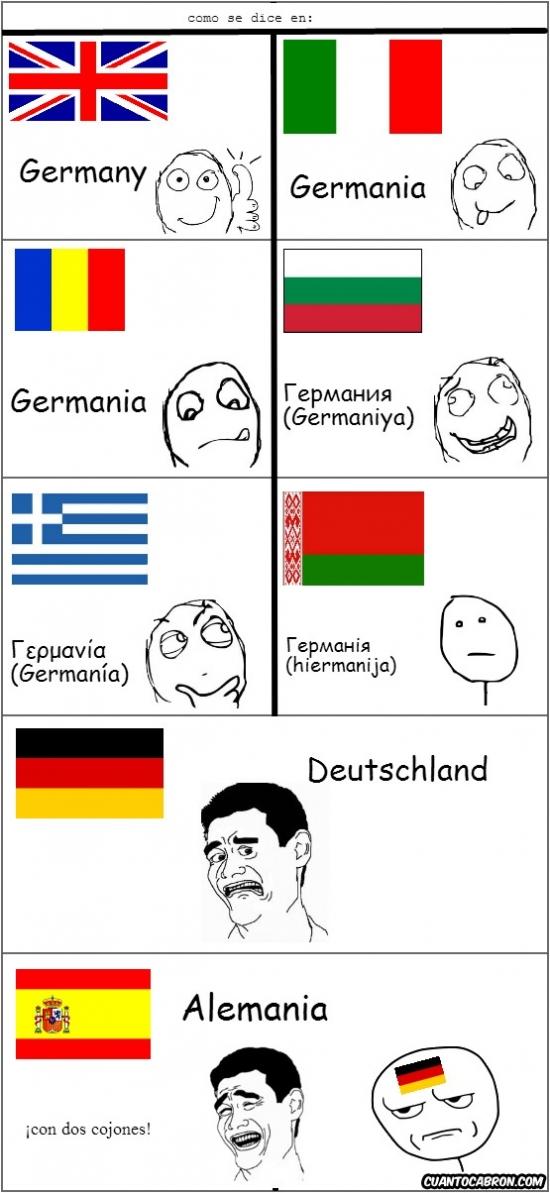 Yao - El país dónde vive la Merkel se llama...