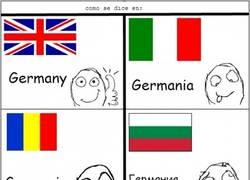 Enlace a El país dónde vive la Merkel se llama...