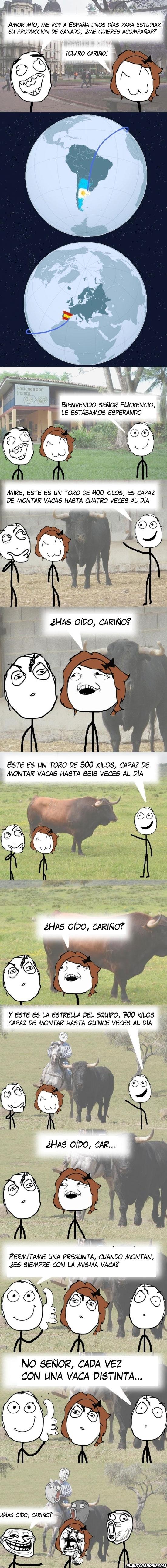 Trollface - Producción de ganado