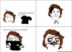 Enlace a Cuando mi novia coge mi camiseta