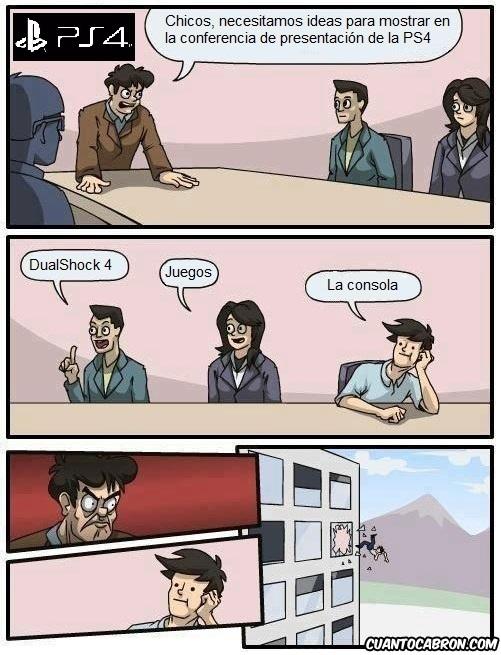 Otros - Y esto es lo que pasó en las oficinas de Sony previo a la presentación de la PS4...