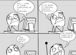 Enlace a ¿Cansado del ordenador?