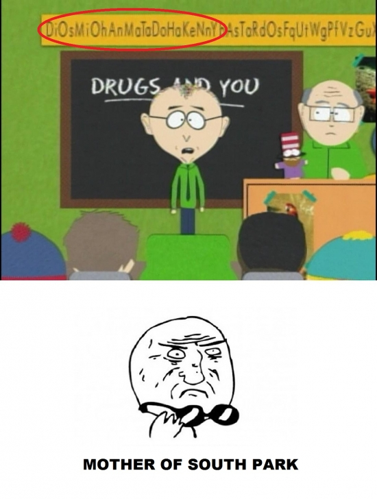 Mother_of_god - Secretos de South Park