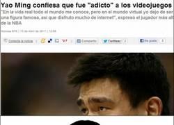 Enlace a Detrás de Yao Ming, hay un friki