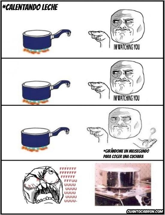 Ffffuuuuuuuuuu - Siempre lo mismo cuando caliento leche