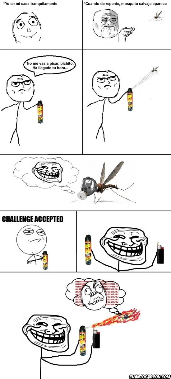 Trollface - ¡No estés tan seguro de tu victoria, insecto!