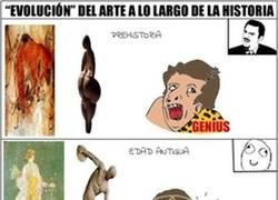 Enlace a La evolución del arte a lo largo de la historia