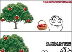 Enlace a Robando manzanas