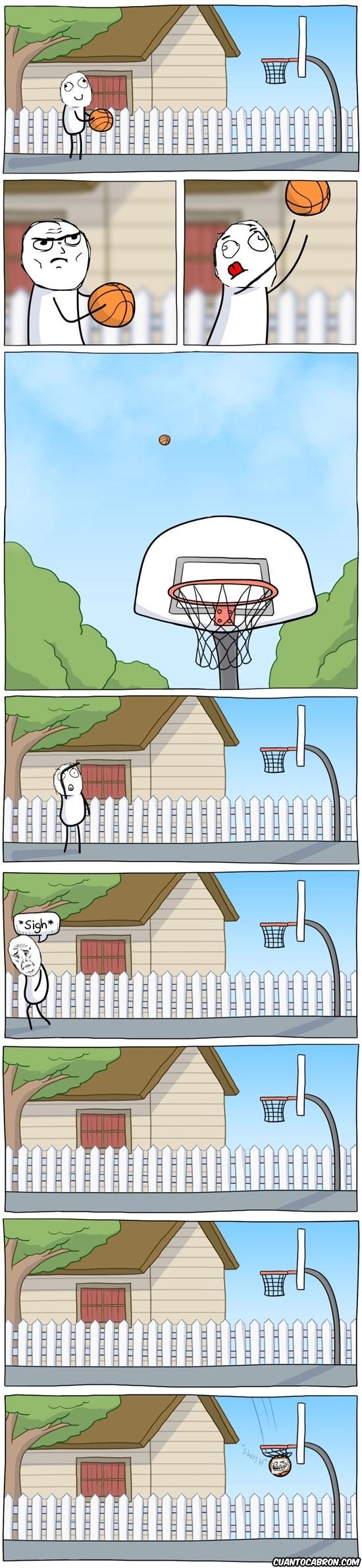 baloncesto,basket,canasta,fuerza sobrehumana,pelota,trollface