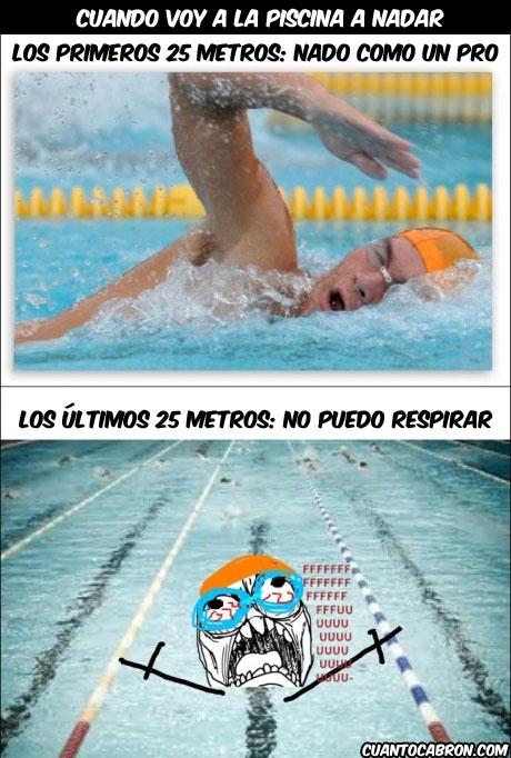 Ffffuuuuuuuuuu - Ir de Michael Phelps por la vida, pero a la hora de la verdad...