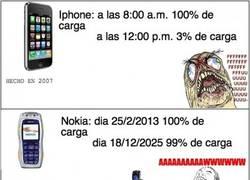 Enlace a Nokia y su batería