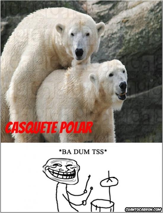 Trollface - Casquete polar