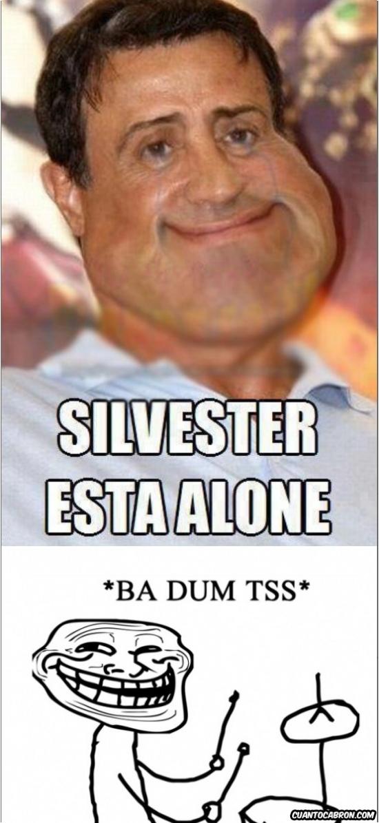 Trollface - ¿Cómo está Silvester hoy?
