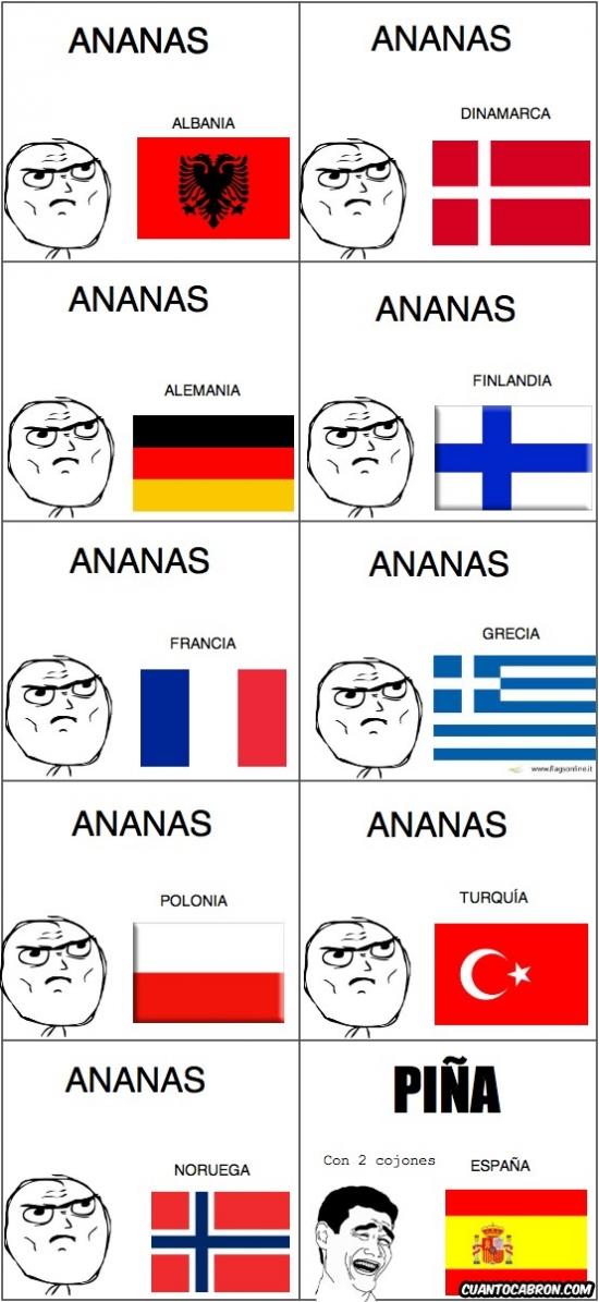 ananas,banderas,con dos cojones,paises,piña,yao
