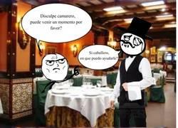 Enlace a Maneras sutiles y bordes de pedir las cosas en un restaurante