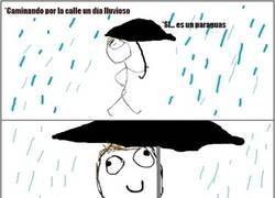 Enlace a La mala leche que esconden los paraguas