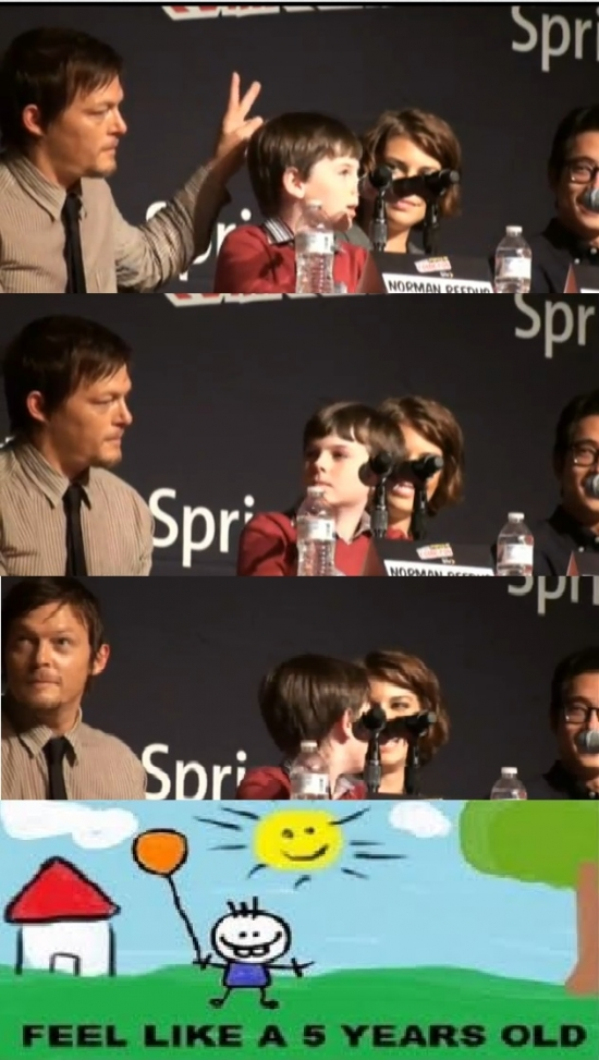 Like_a_5_years_old - Porque Daryl también es un niño...