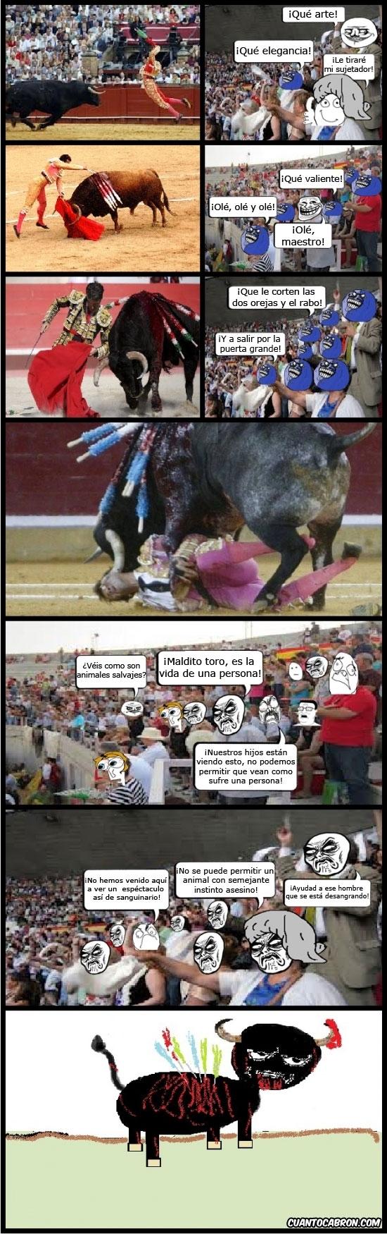 arte,corrida de toros,hipocresia,publico hipocrita,toreo,torero,toros,tortura animal