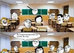 Enlace a Profesores, siempre con los mismo