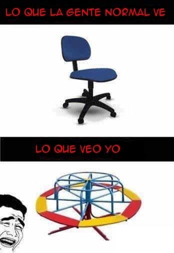 mi visión,parque infantil,Silla,silla de escritorio,vueltas,yao ming