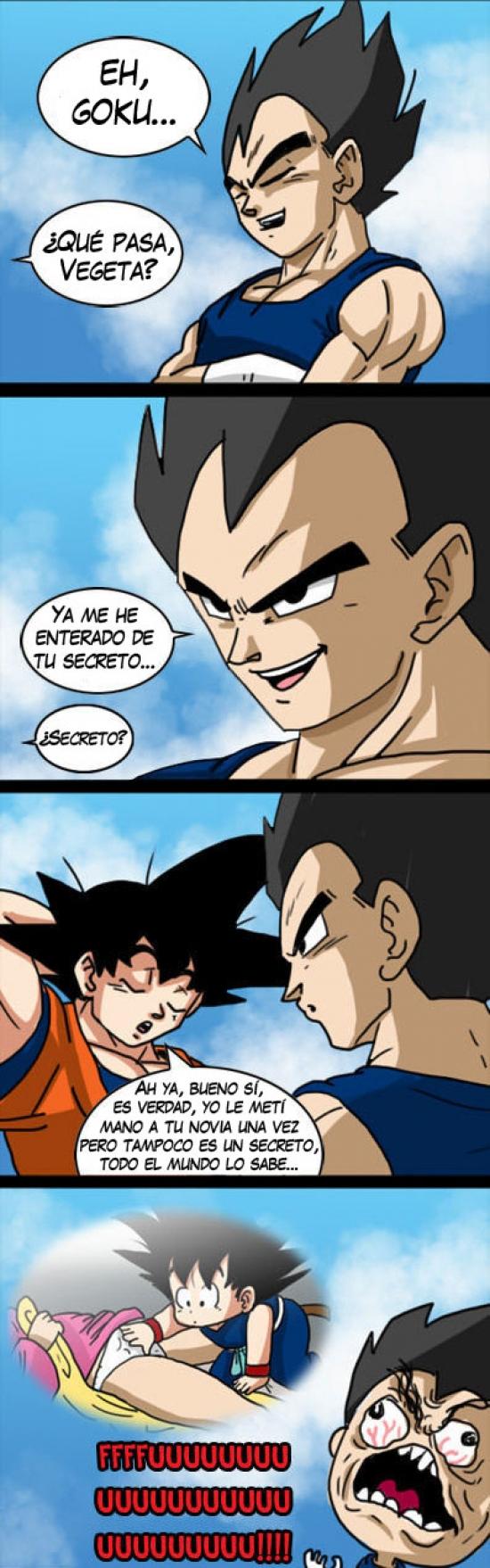 Ffffuuuuuuuuuu - El secreto de Son Goku