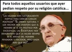 Enlace a ¿Sabéis qué opina el nuevo Papa de todas vosotras?