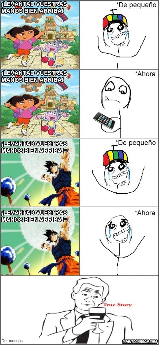 Otros - Diferencias entre Goku y Dora la exploradora