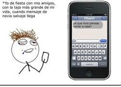 Enlace a El peligro de los mensajes al móvil cuando vas taja