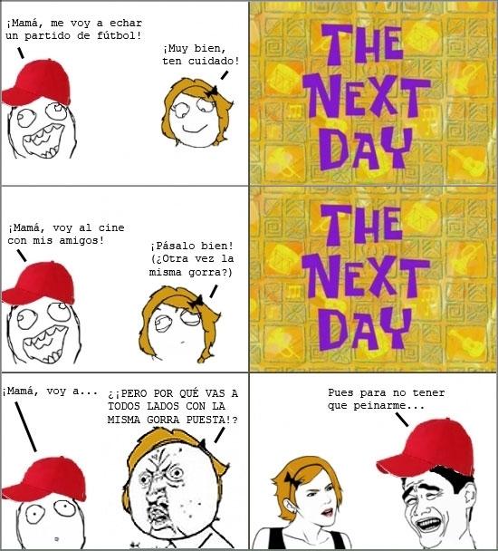 Mix - La auténtica utilidad de las gorras