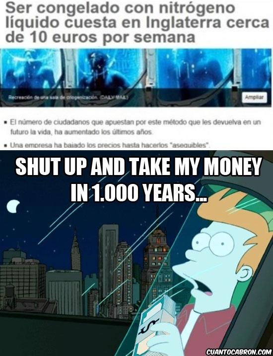 Fry - Alargando vidas gracias a Futurama