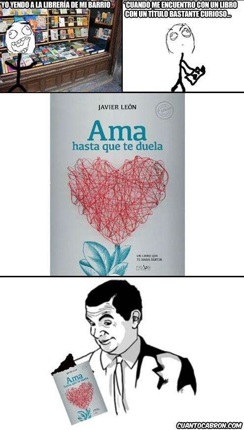 ama hasta que te duela,if you know what i mean,libreria,libro