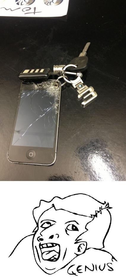 Otros - Es que se me ha roto el iPhone y no sé que hacer, ¡yo tengo una idea!