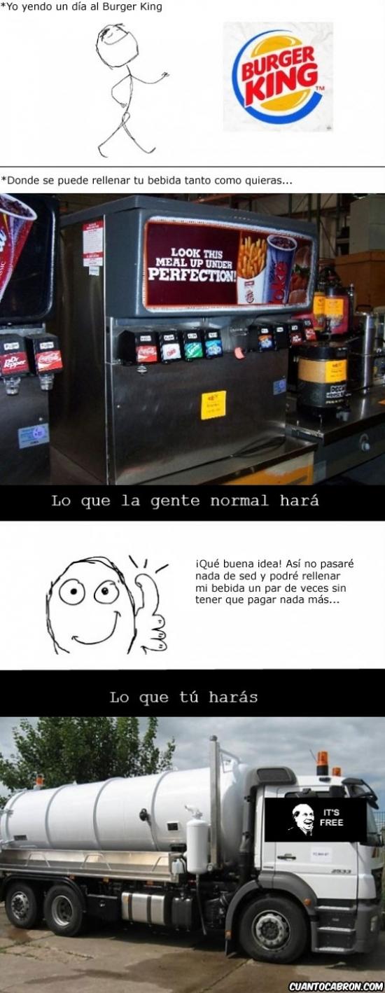 Its_free - Gran error Burger King...