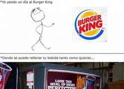 Enlace a Gran error Burger King...