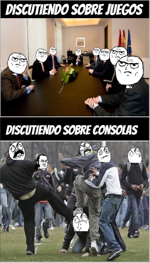 consolas,directivos,discutiendo,discutir,juegos,junta,peleas,videojuegos