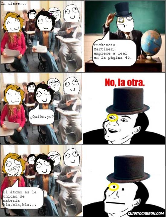 clase,no me digas,poker face,profesor,retarded