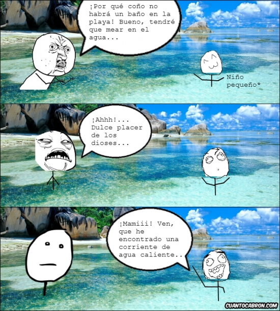 agua,baño,corriente de agua caliente,mama,mear,niño pequeño,playa