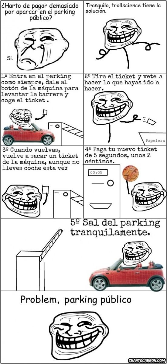 Trollface - Problem, parking público?